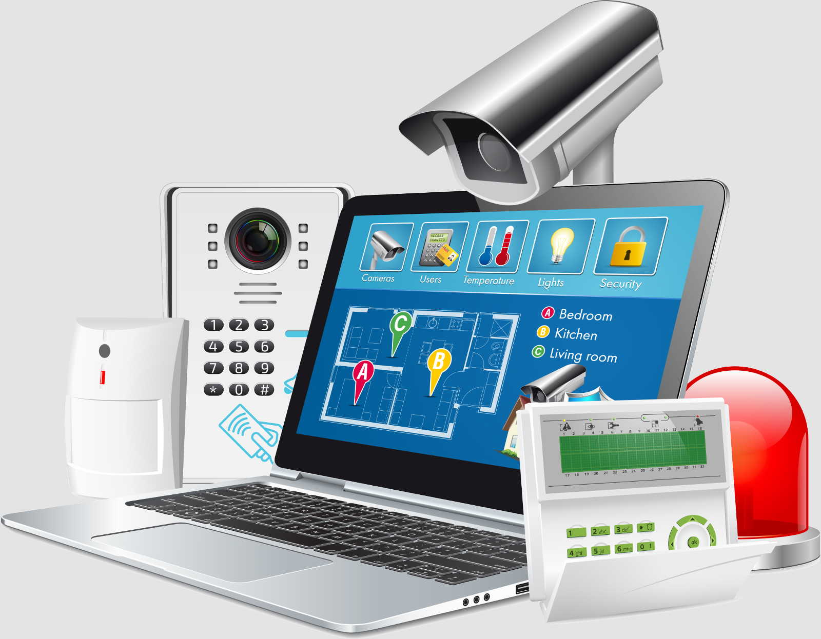 Integrated Security Devices