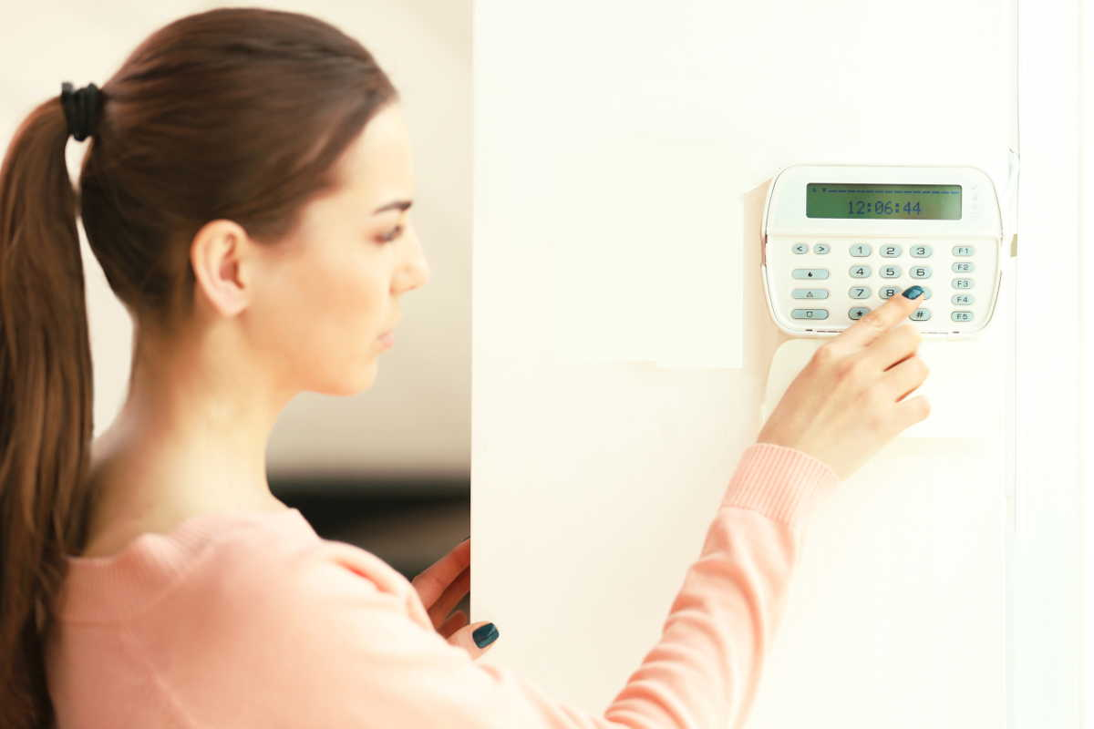 Using an Alarm Keypad